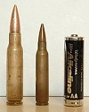 7.62×51 mm - 5.56×45 mm - Pila AA