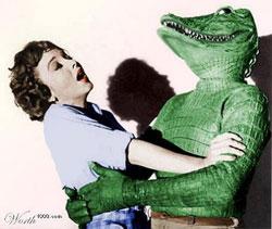 reptiliano_come-_mujer