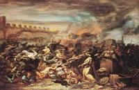 La masacre de los judíos de Estrasburgo. Museo Histórico de Estrasburgo.