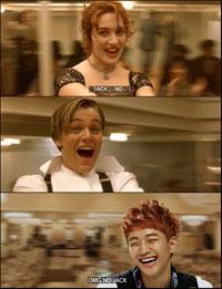 Bailando en el Titanic.