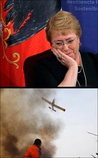 Presidente de Chile, Michelle Bachelet.