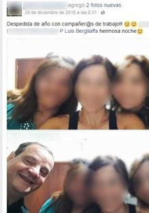 Foto: captura de la cuenta de Bergliaffa en Facebook.
