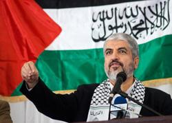 Jaled Meshal,, líder de Hamas.