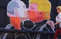 Presidente de la Federación Rusa, Vladímir Putin, y Donald Trump, presidente de Estados Unidos.