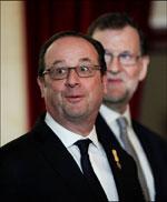 Presidente francés, François Hollande.