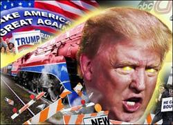 El presidente electo de USA, Donald Trump, según los medios occidentales.
